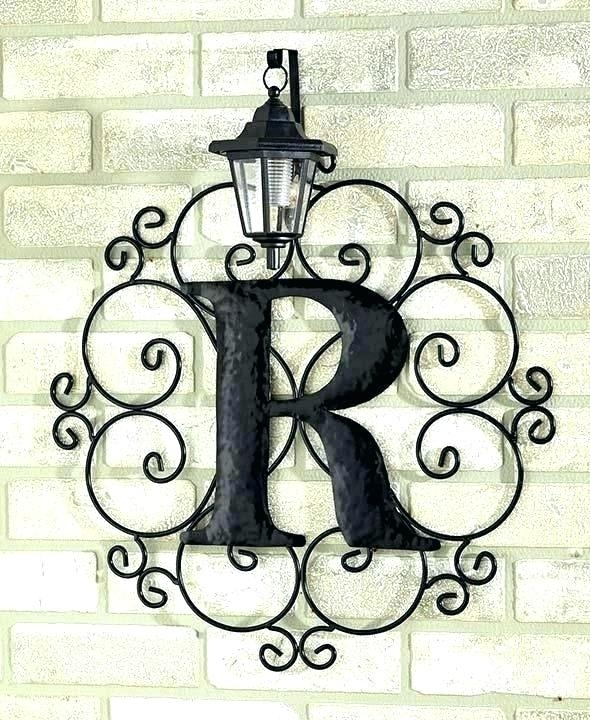 Wrought Iron Outdoor Wall Decor Outdoor Iron Wall Decor Contemporary Within Outdoor Wall Art Decors (View 16 of 20)