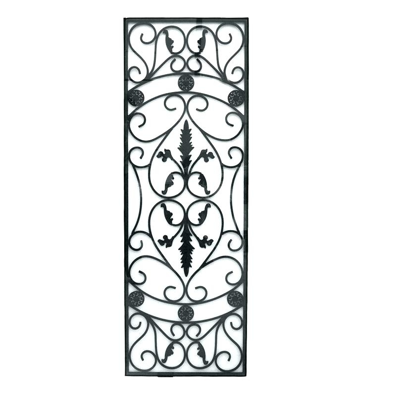 Wrought Iron Wall Art Vertical Metal Wall Art Vertical Metal Wall Within Vertical Metal Wall Art (Image 24 of 25)