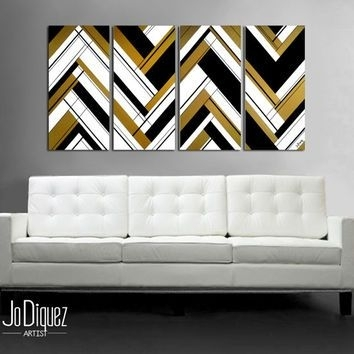 X354-Q80 (354×354) | Home & Garden | Pinterest | Abstract Art within Black and Gold Wall Art