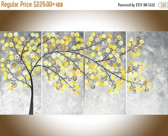 Yellow Wall Art Simple Yellow Wall Art – Wall Decoration Ideas Regarding Yellow Wall Art (View 4 of 20)