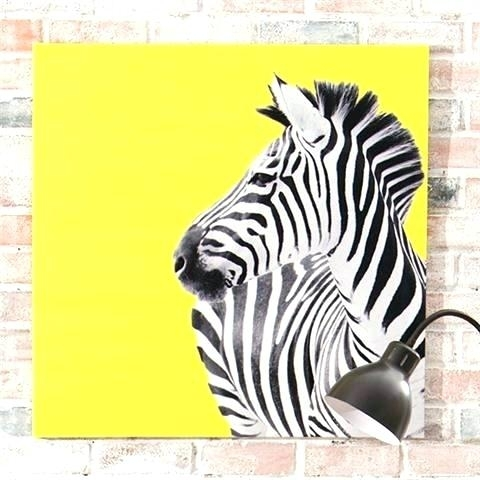 Zebra Print Canvas Wall Art Animal Print Canvas Wall Art Zebra Print Throughout Zebra Canvas Wall Art (Photo 13 of 25)