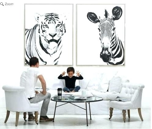 Zebra Wall Art Canvas Zebra Wall Decor Wall Art Designs Zebra Wall With Zebra Canvas Wall Art (View 19 of 25)