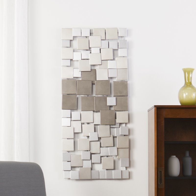 Zipcode Design Contemporary Geometric Wall Décor & Reviews | Wayfair regarding Geometric Wall Art