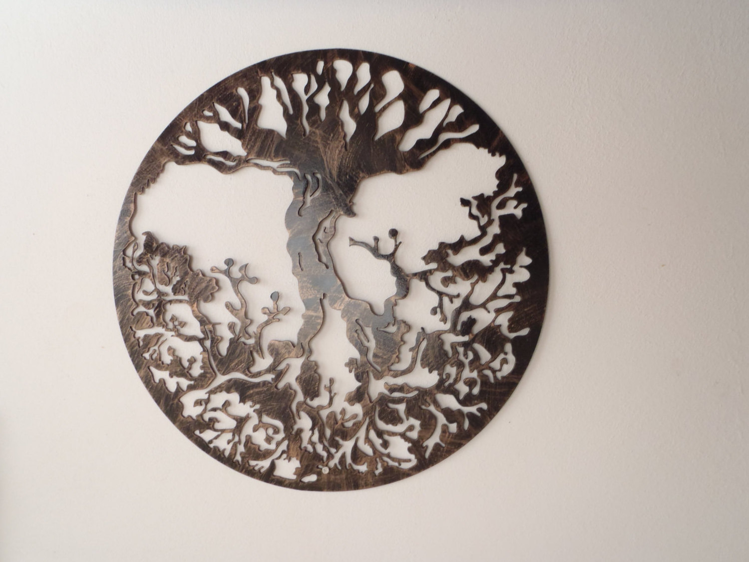 Tree Of Life Antique Look Wall Art (Image 8 of 10)