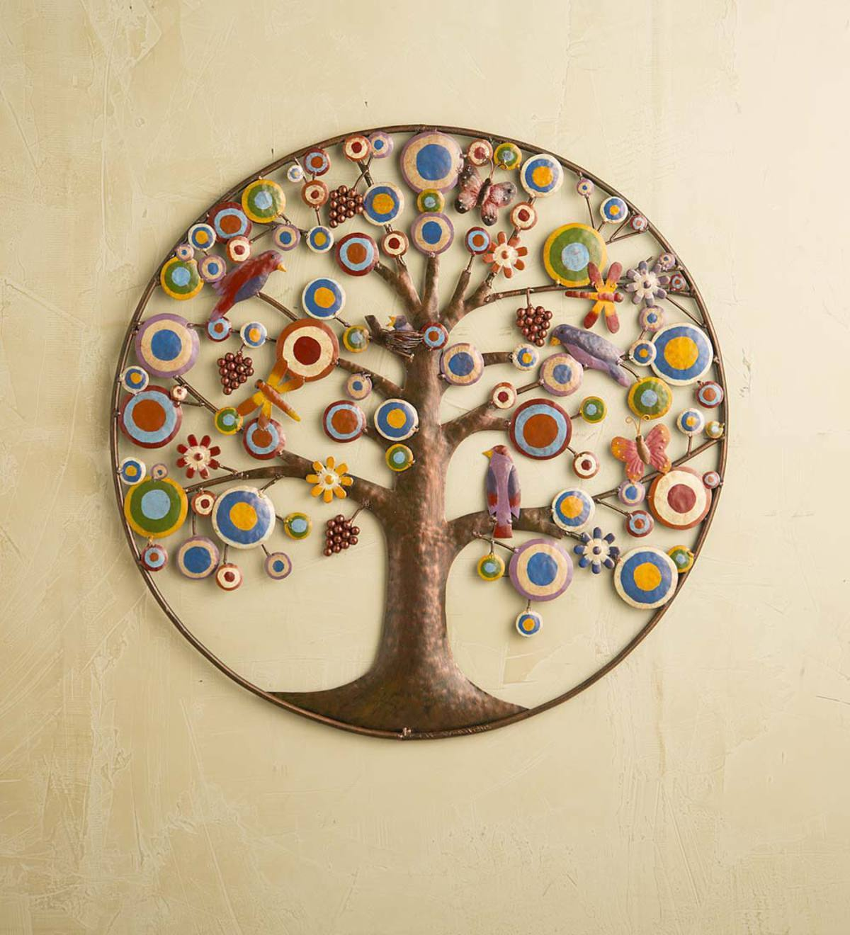Unique Tree Life Wood Carving Wall Art (Image 10 of 10)