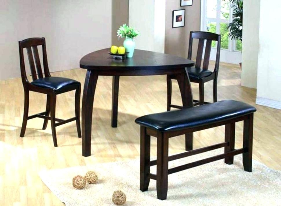 1. Dining Tables For 2 Small Kitchen Table Chairs Set Latest Compact Pertaining To Compact Dining Room Sets (Photo 11 of 25)