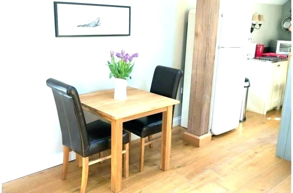 1. Dining Tables For 2 Small Kitchen Table Chairs Set Latest Compact With Regard To Compact Dining Tables (Photo 16 of 25)