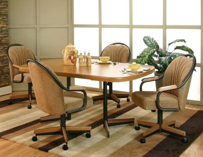 1. Faux Leather Dining Chairs Modern Dining Room Chairs Leather For Dining Chairs Ebay (Photo 13 of 25)