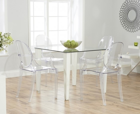 1. Top Plastic Dining Table Chair Set Dining Table And Chairs Khaana regarding Clear Plastic Dining Tables