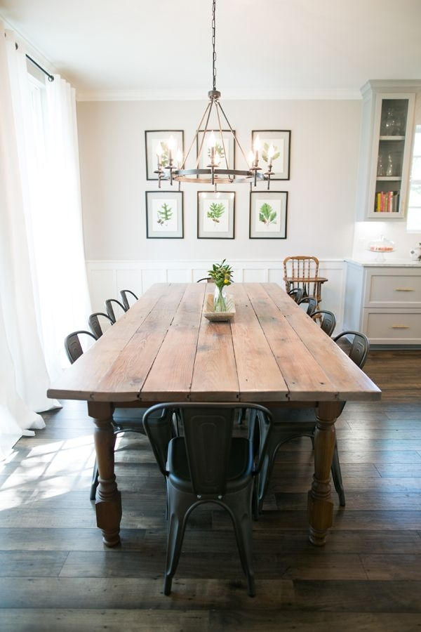 10 Beautiful Spaces: Dining Room Decor That I Love | Dining Room Pertaining To Farm Dining Tables (Image 2 of 25)