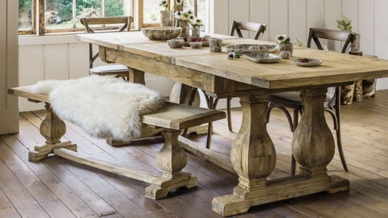 10 Best Traditional Dining Tables | Real Homes Inside Traditional Dining Tables (Image 1 of 25)