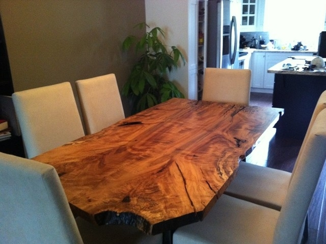 10. Branch Dining Table Rustic Dining Room intended for Tree Dining Tables