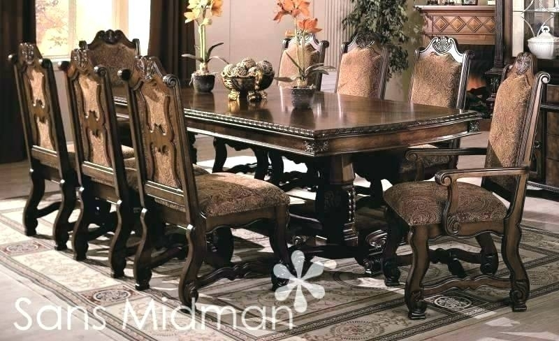 10 Chair Dining Table – Bjctesting In Dining Table And 10 Chairs (Image 1 of 25)
