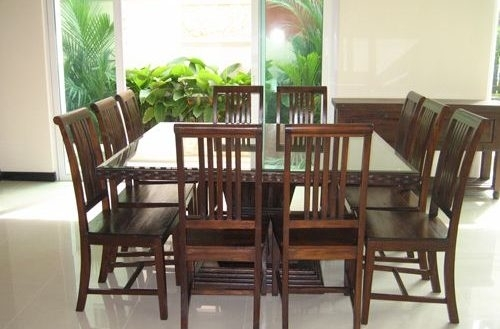 10 Chair Dining Table Home And Furniture | Thejobheadquarters 10 With Regard To Dining Table And 10 Chairs (Image 3 of 25)