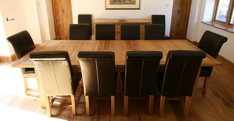 10 Chair Dining Table Home And Furniture | Thejobheadquarters 10 With Regard To Dining Table And 10 Chairs (View 9 of 25)