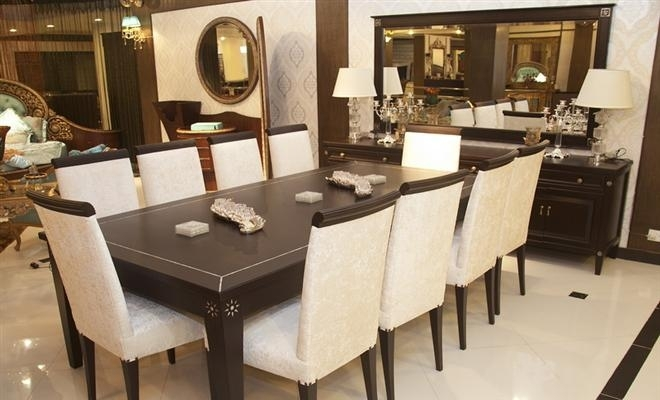 10 Chairs Dining Tableheaven Designs At Home Design Inside Dining Table And 10 Chairs (Image 4 of 25)