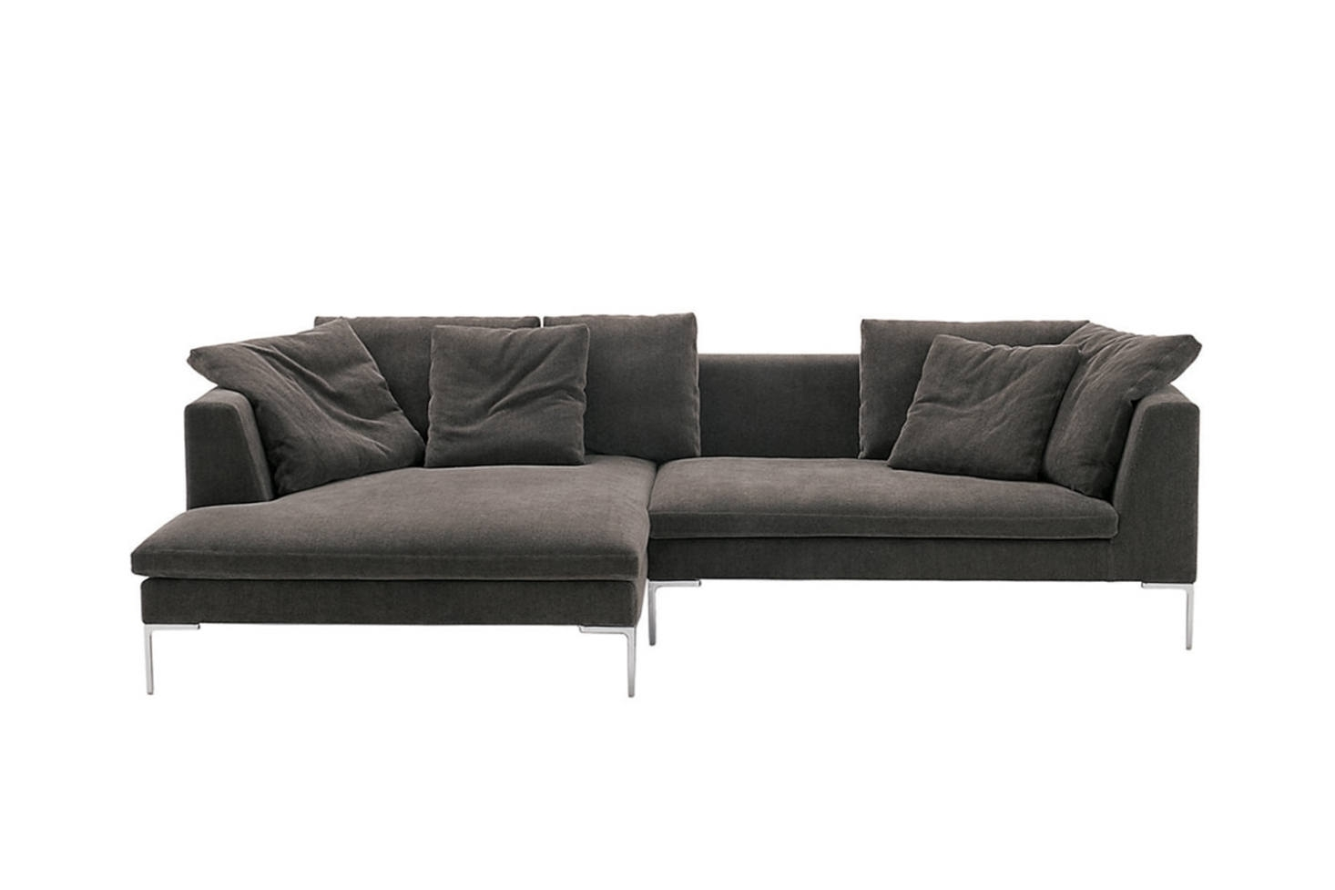 10 Easy Pieces: Sectional Chaise Sofas – Remodelista Inside Elm Grande Ii 2 Piece Sectionals (Image 7 of 25)