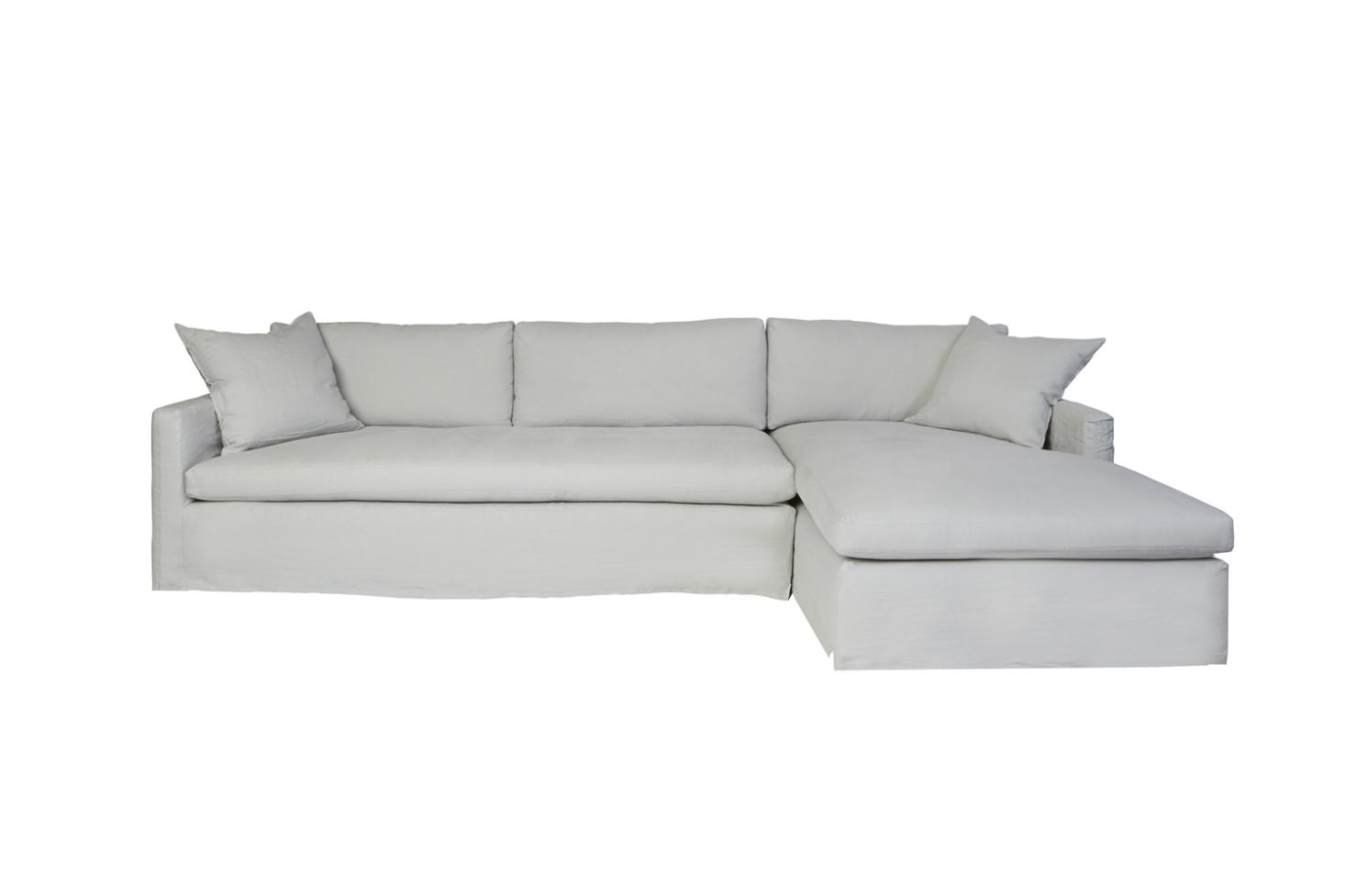 10 Easy Pieces: Sectional Chaise Sofas - Remodelista inside Elm Grande Ii 2 Piece Sectionals