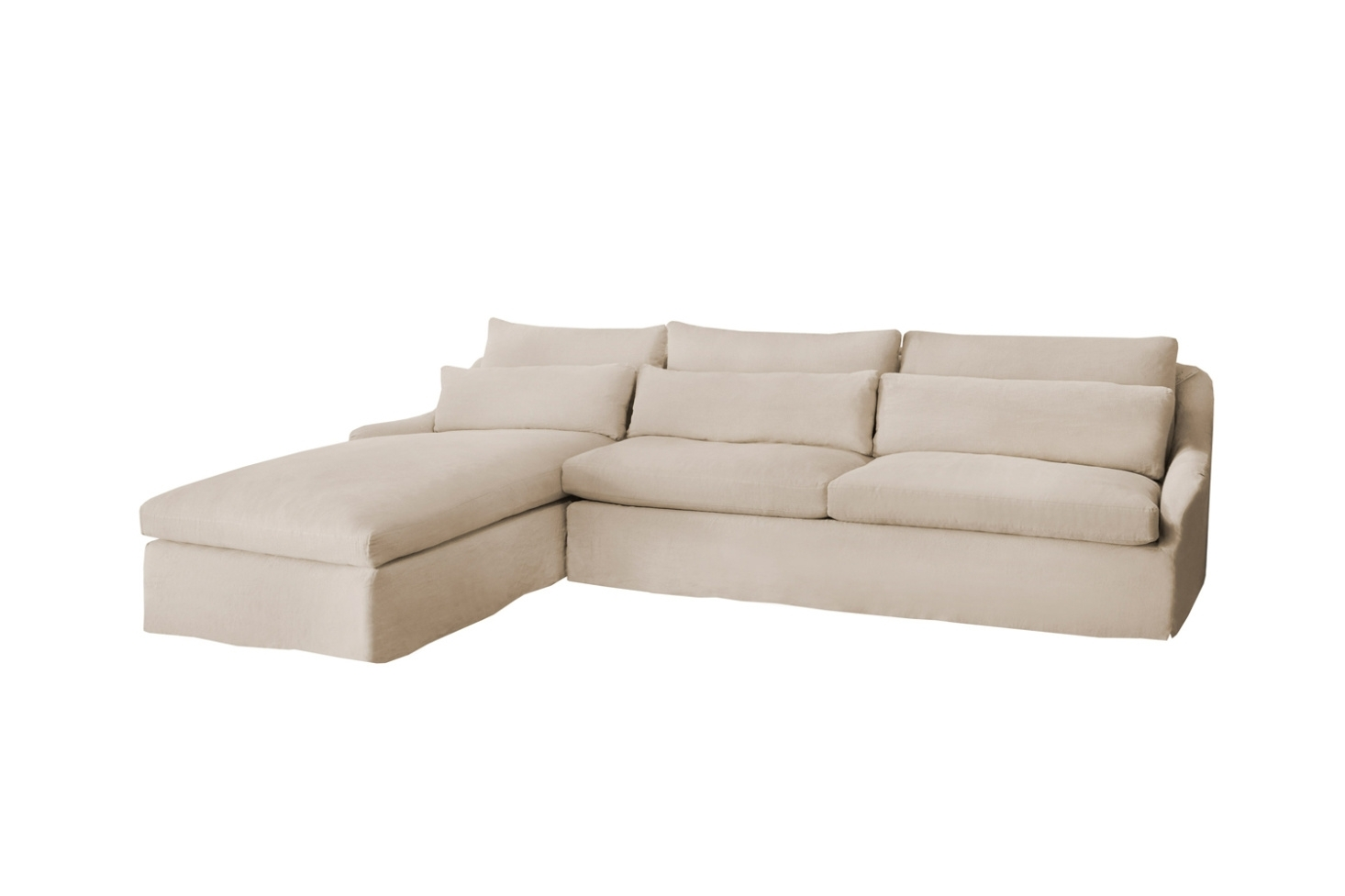 10 Easy Pieces: Sectional Chaise Sofas – Remodelista Intended For Elm Grande Ii 2 Piece Sectionals (Image 7 of 25)