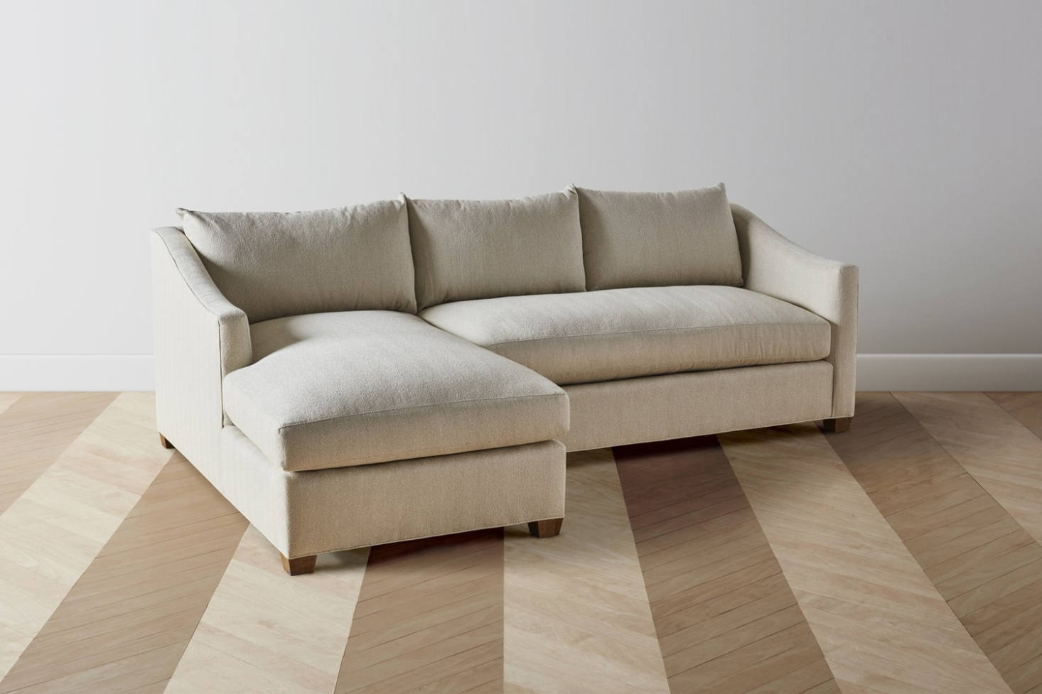 10 Easy Pieces: Sectional Chaise Sofas – Remodelista Regarding Elm Grande Ii 2 Piece Sectionals (Image 9 of 25)
