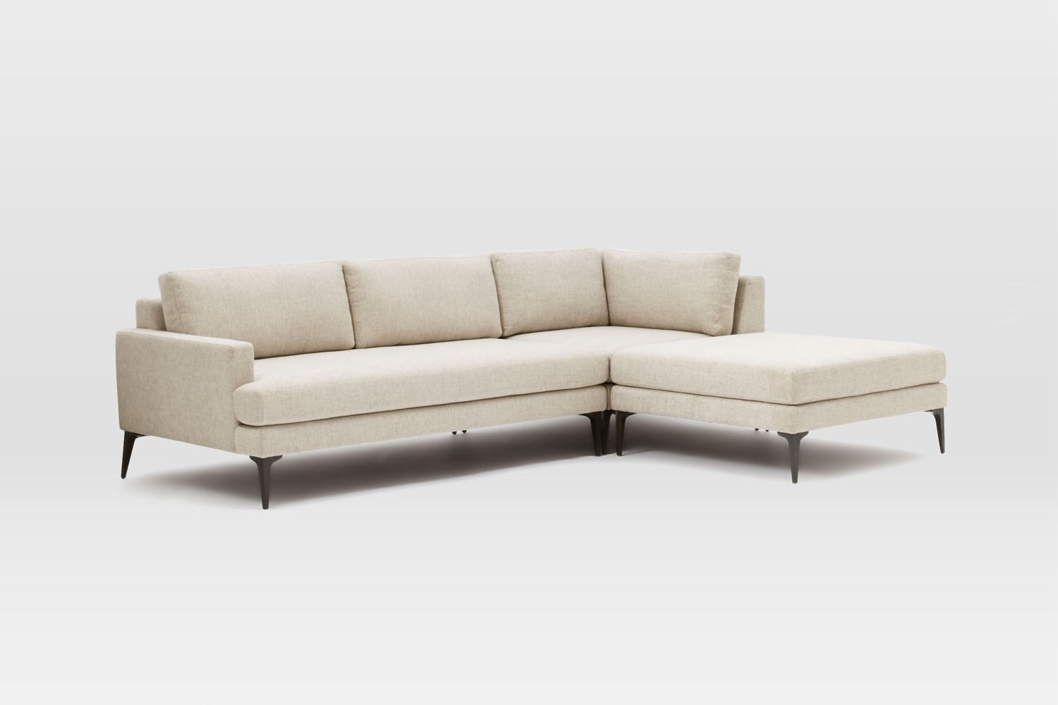 10 Easy Pieces: Sectional Chaise Sofas – Remodelista Regarding Elm Grande Ii 2 Piece Sectionals (Image 8 of 25)
