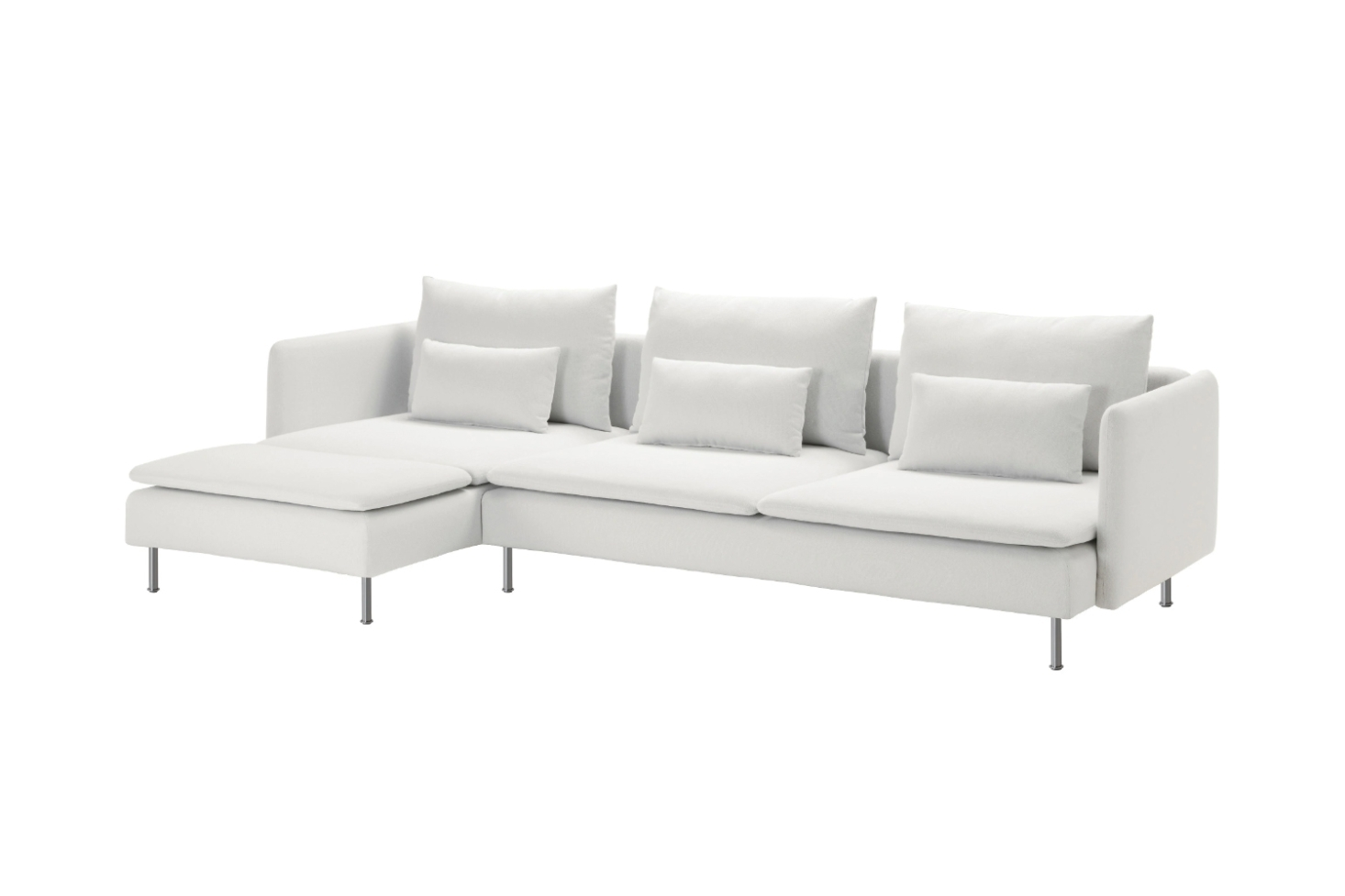 10 Easy Pieces: Sectional Chaise Sofas - Remodelista with Elm Grande Ii 2 Piece Sectionals