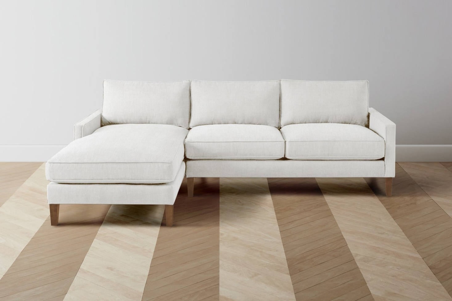 10 Easy Pieces: Sectional Chaise Sofas – Remodelista With Elm Grande Ii 2 Piece Sectionals (Image 11 of 25)