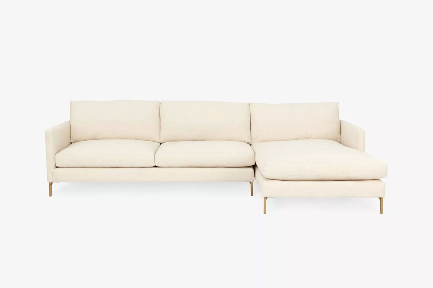 10 Easy Pieces: Sectional Chaise Sofas – Remodelista Within Elm Grande Ii 2 Piece Sectionals (Image 9 of 25)