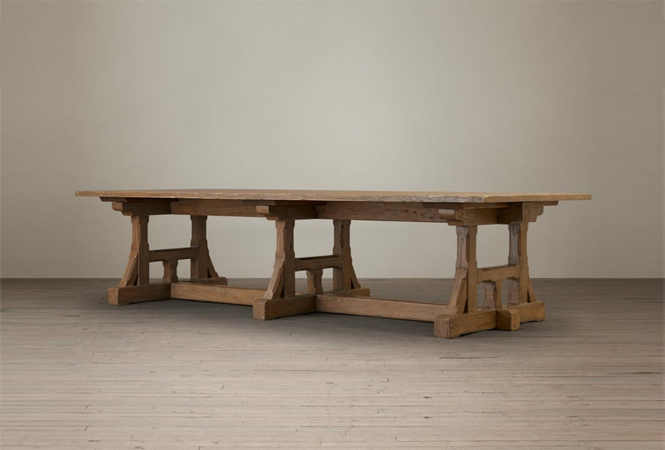 10 Easy Pieces: Traditional Refectory Tables – Remodelista With Craftsman Rectangle Extension Dining Tables (Image 1 of 25)