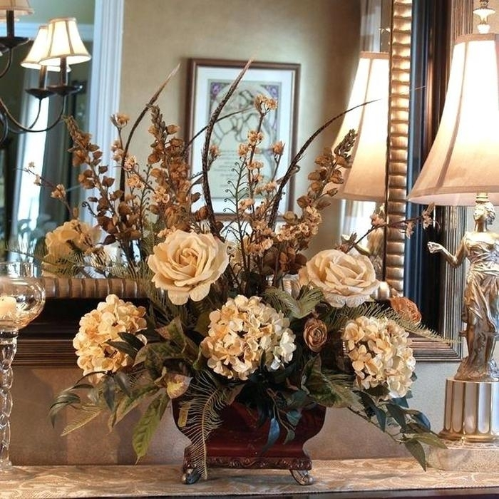 10. Floral Centerpieces For Dining Table Best Images About Floral in Artificial Floral Arrangements for Dining Tables