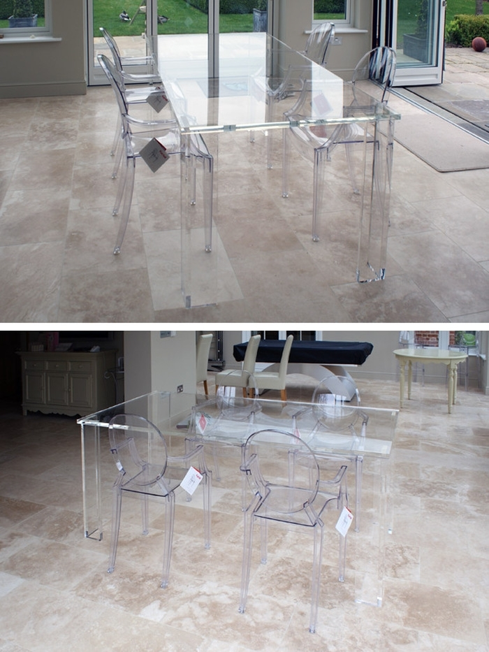 10. Incredible Clear Plastic Dining Table And Chairs 1804 Clear throughout Clear Plastic Dining Tables