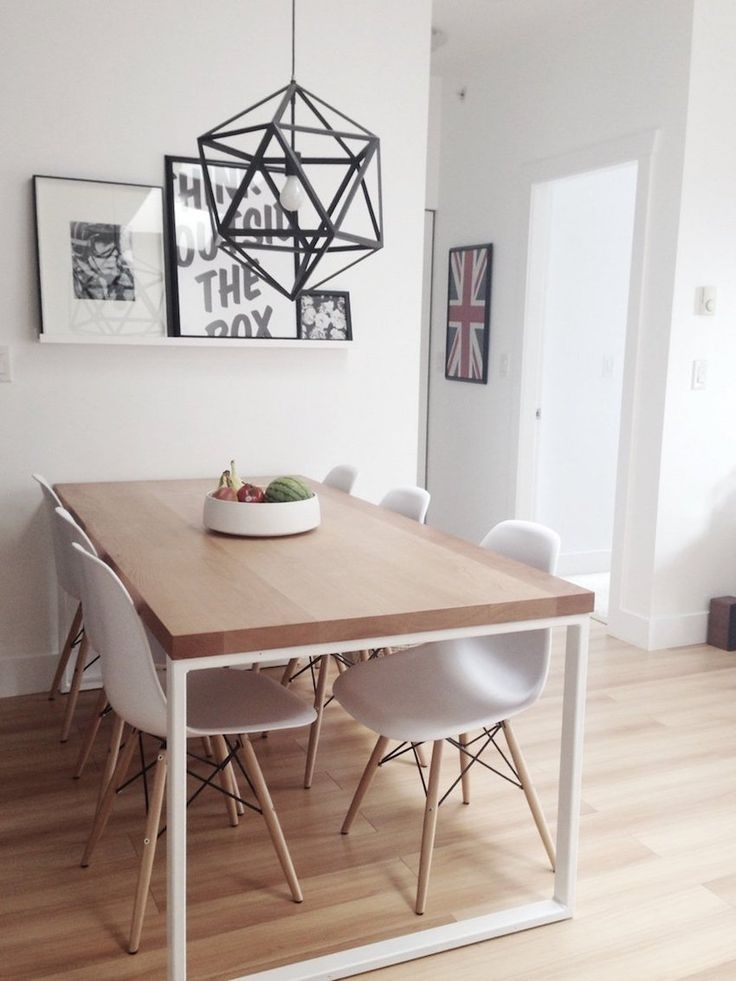 10 Inspiring Small Dining Table Ideas That You Gonna Love | Minimal Regarding Small Dining Tables (Image 1 of 25)