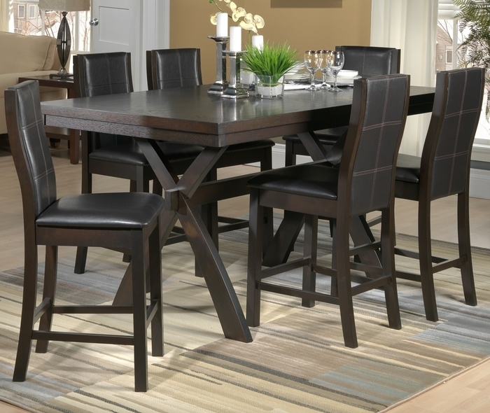 10. Leons Dining Table Set intended for Leon 7 Piece Dining Sets