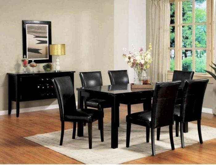 10 Modern Dining Room Sets With Awesome Upholstery – Rilane With Regard To Cream Lacquer Dining Tables (Image 1 of 25)