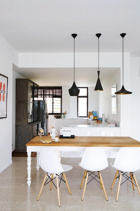 10 Perfect Pairings – Pendant Lamps And Dining Tables | Home & Decor Within Over Dining Tables Lighting (Image 1 of 25)