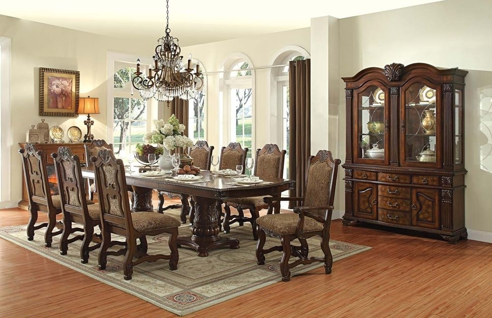 10 Seater Dining Table And Chairs Uk | Furniture Design Throughout Dining Table And 10 Chairs (Image 6 of 25)