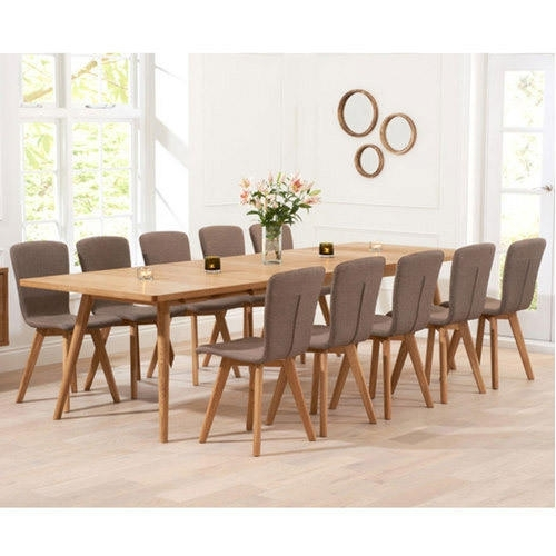 10 Seater Dining Table Set At Rs 65500 /set | Dining Table Set | Id With 10 Seat Dining Tables And Chairs (Image 5 of 25)