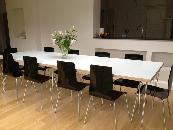 10 Seater White Dining Table – Dining Room Ideas With Regard To 10 Seater Dining Tables And Chairs (Image 10 of 25)