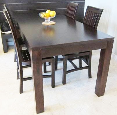 10 Sets Of Dining Tables For Sale (Starting From $168 Only) with Balinese Dining Tables