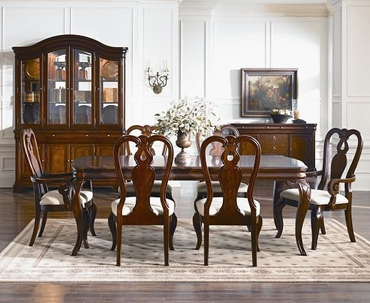10. Stunning Black Louis Philippe Dining Table U0026 8 Chairs Dining With Regard To Bordeaux Dining Tables (Photo 24 of 25)