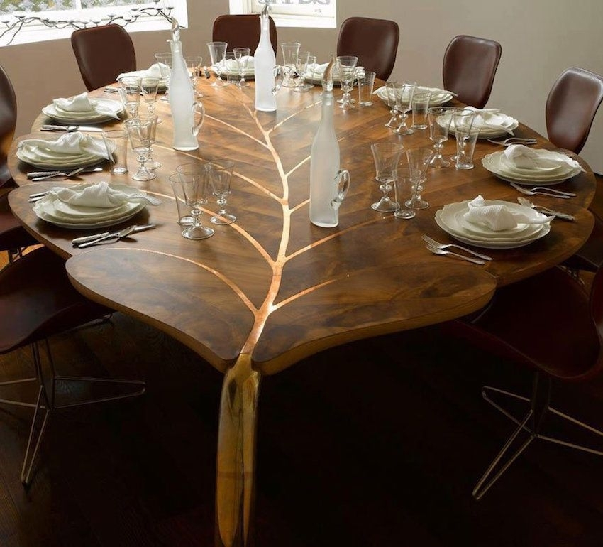 10 Unique Wooden Dining Tables That Will Leave You Astonished For Unusual Dining Tables For Sale (View 2 of 25)