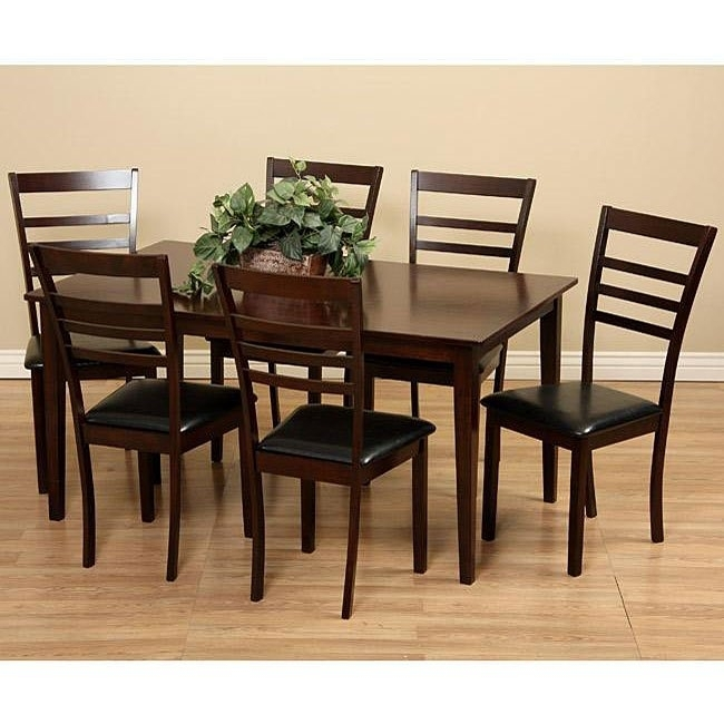 100 K House: Loon Peak Matterhorn 7 Piece Dining Set Amp; Reviews Throughout Bradford 7 Piece Dining Sets With Bardstown Side Chairs (View 18 of 25)