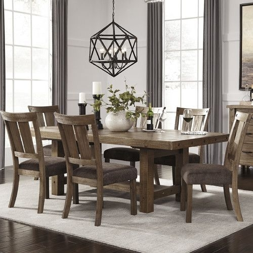11 Best Kitchen Tables Images On Pinterest | Kitchen Desks, Kitchen Throughout Craftsman 9 Piece Extension Dining Sets With Uph Side Chairs (Image 1 of 25)