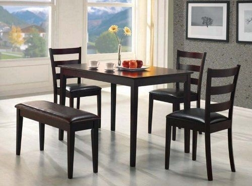11 Best Medium Dining Tables Images On Pinterest | Dining Room Sets throughout Candice Ii 5 Piece Round Dining Sets With Slat Back Side Chairs