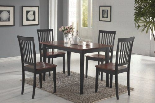 11 Best Medium Dining Tables Images On Pinterest | Dining Room Sets Throughout Candice Ii 5 Piece Round Dining Sets With Slat Back Side Chairs (Image 2 of 25)