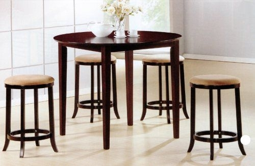 11 Best Medium Dining Tables Images On Pinterest | Dining Room Sets With Candice Ii 5 Piece Round Dining Sets With Slat Back Side Chairs (Image 4 of 25)