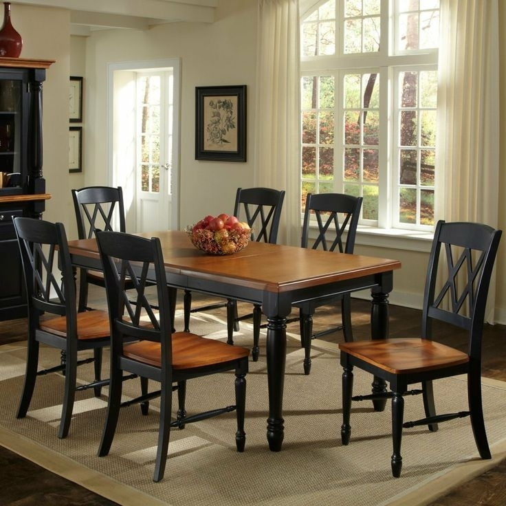 11 Best Medium Dining Tables Images On Pinterest | Dining Room Sets With Regard To Candice Ii 7 Piece Extension Rectangular Dining Sets With Slat Back Side Chairs (Photo 19 of 25)