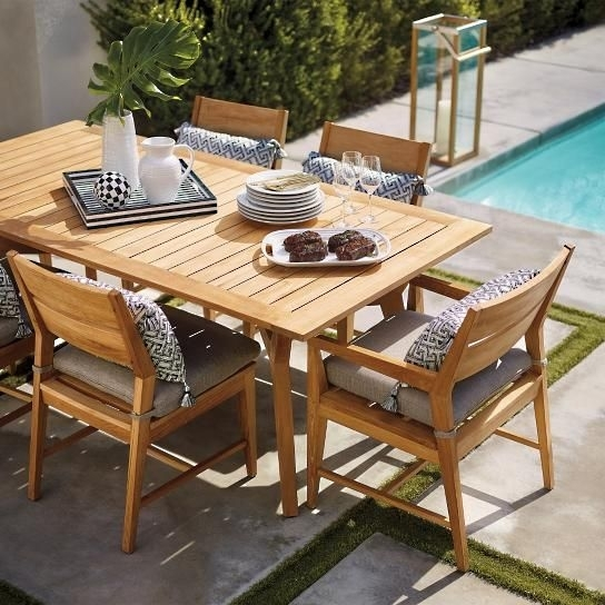 11 Best Patio Dining Sets Images On Pinterest | Patio Dining Sets Intended For Palazzo 7 Piece Rectangle Dining Sets With Joss Side Chairs (Photo 10 of 25)