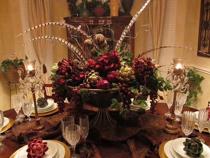 Featured Image of Artificial Floral Arrangements For Dining Tables