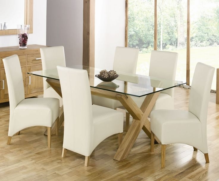 110 Best Cheap Furniture Images On Pinterest | Cheap Furniture With Oak And Glass Dining Tables And Chairs (Image 1 of 25)